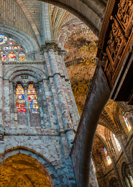 Intrnal Flying Buttress And Apse Avila Spain Cathedral Photography Art | Hatch Photo Artistry LLC
