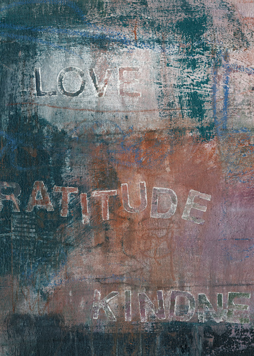 Give Me Your Words : : Love Gratitude Kindness Art | Stephanie Visser Fine Art