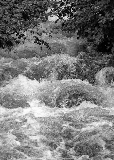 Chugach Range Torrent Bw Photography Art | Hatch Photo Artistry LLC