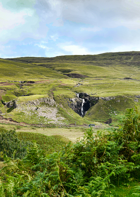 Scotland Skye Moors And Waterfall Photography Art | Hatch Photo Artistry LLC