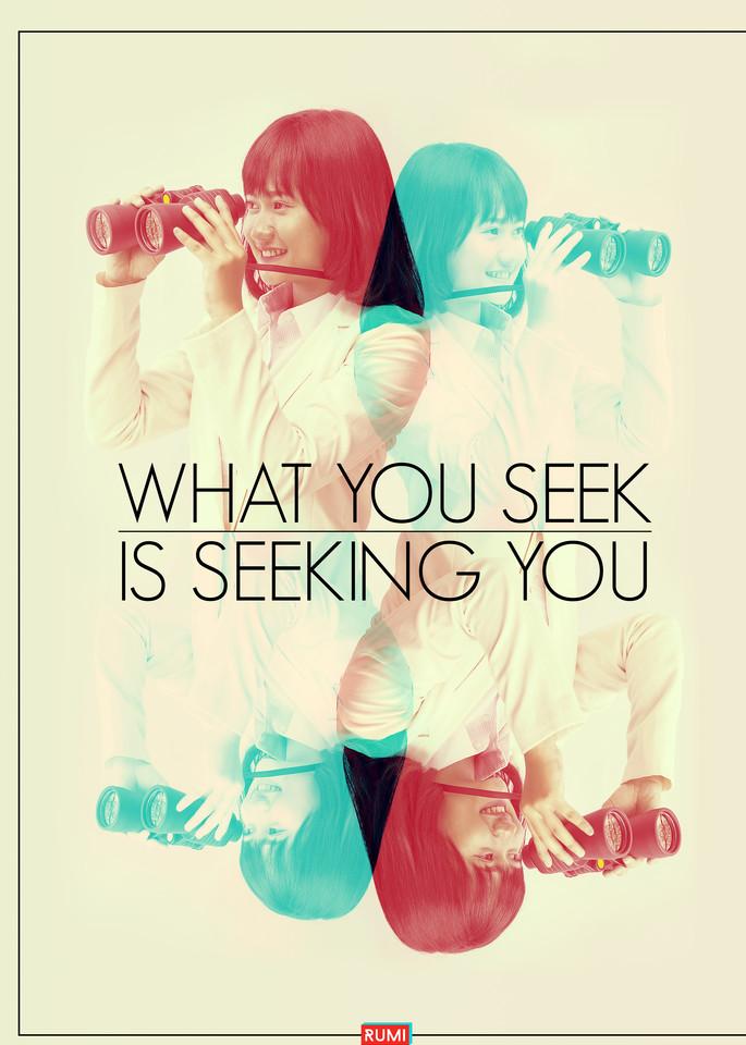 Woman Seeking Self Art | Awake Graphics, LLC