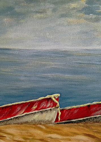 Boats Are Ready! Art   Lynda Moffatt Fine Arts