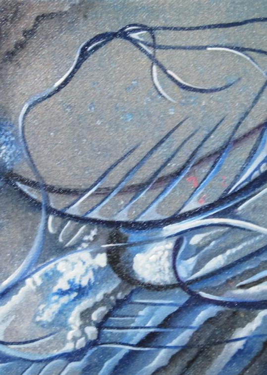 Cr1 Blue Mood Art | Dave Jeffers Artist