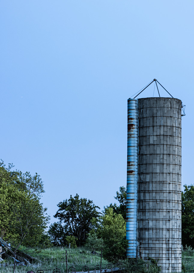 Silo Ruins In Color Photography Art | Spry Gallery