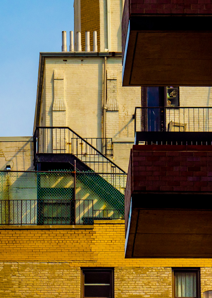Two Balconies, New York City Photography Art | Ben Asen Photography
