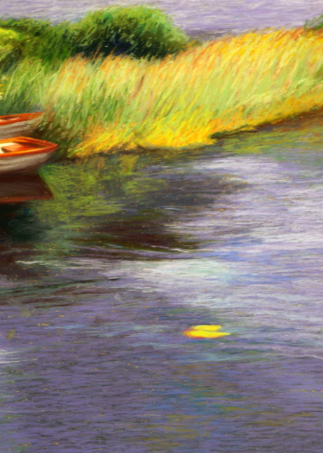 Rowboats In Scotland Art   Helen Vaughn Fine Art
