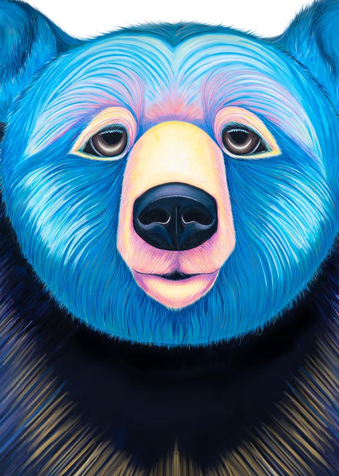 animals Asia bear print mural