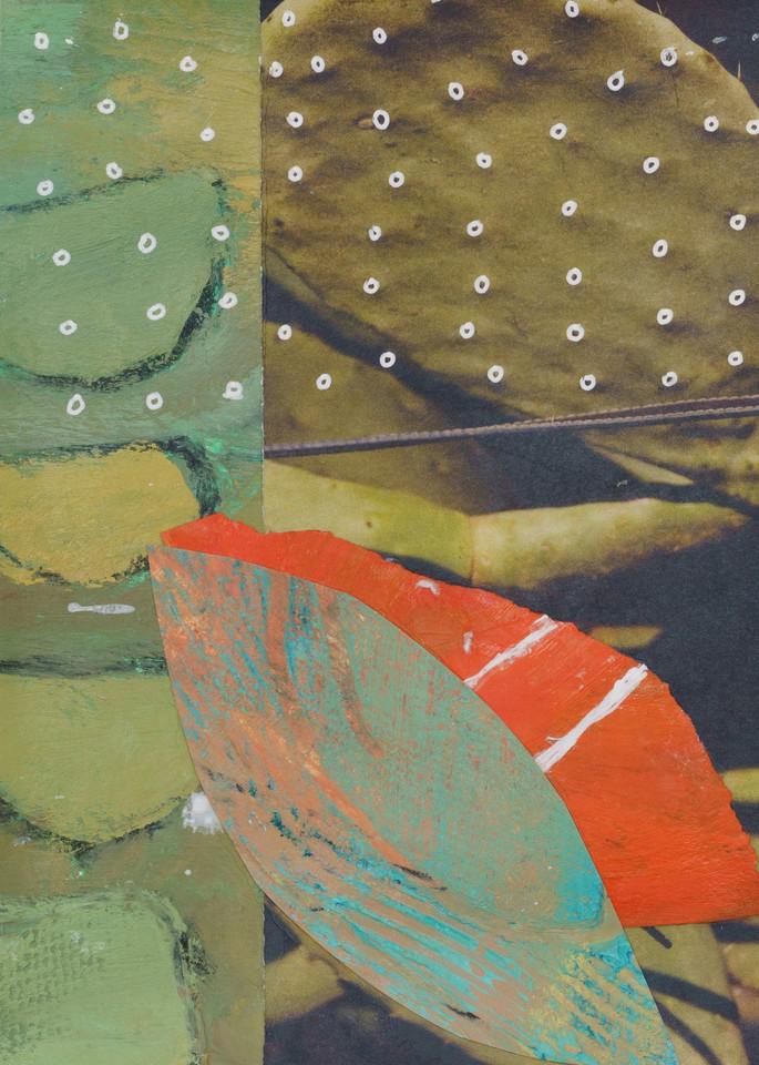Cactus Collage Art | Julie Brown Art