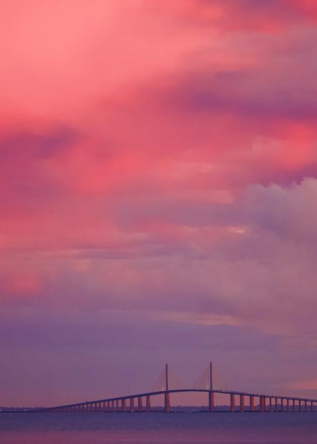 Tampa Bay Sunrise Photography Art   CJ Harding