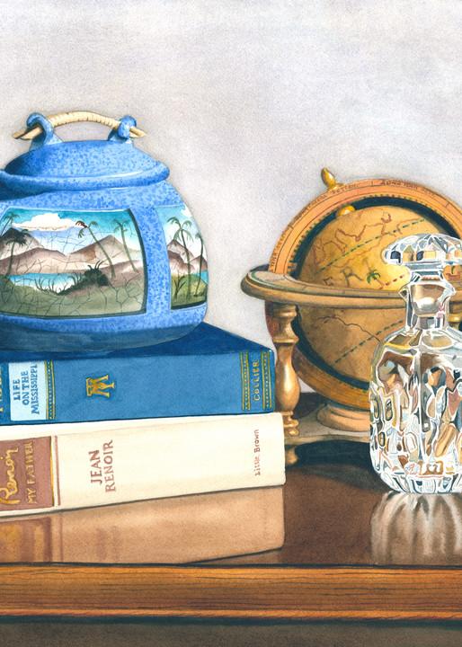 Blue Classics 18x24 Art | Gary Curtis Watercolors