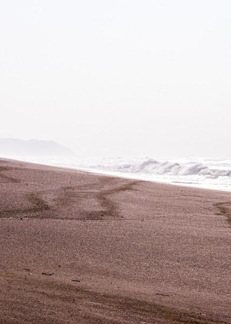 Yin and Yang - Morning on the California coast photograph print