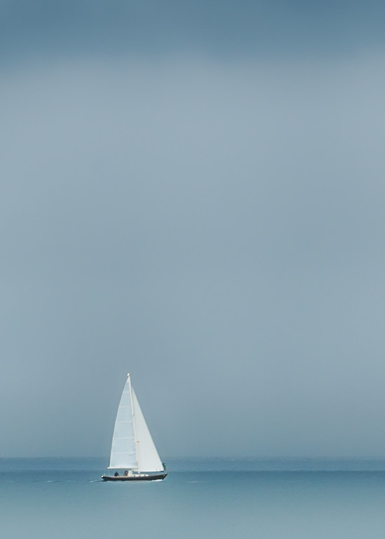 Sailing Single Handed Art   Michael Blanchard Inspirational Photography - Crossroads Gallery