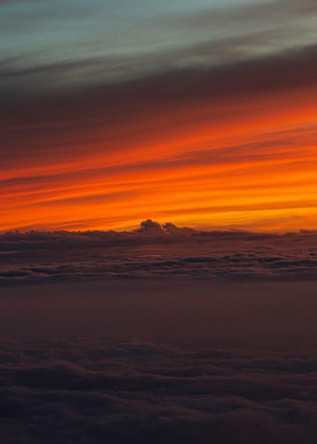 Sunset, On top of Mauna Kea,  Hawaii