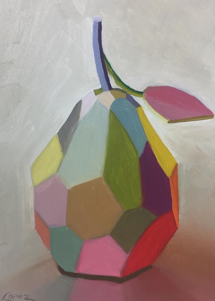 Planes Of A Pear Art | Gema Lopez Fine Arts