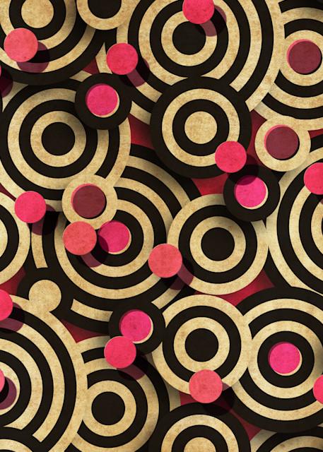Abstract Art - Dots and Circles No. 1