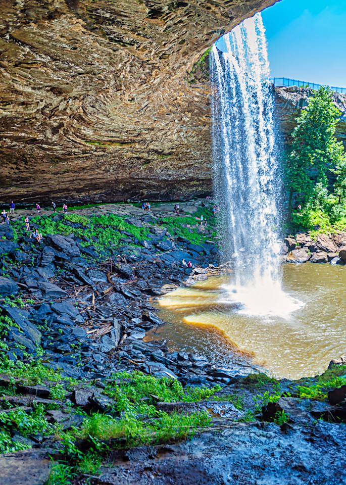 Below The Gadsden Falls Photography Art   draphotography