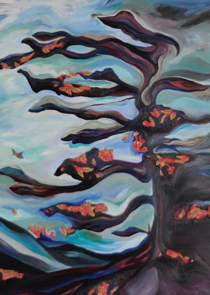 Stormy Weather With Paper Art   Mina Vancardo