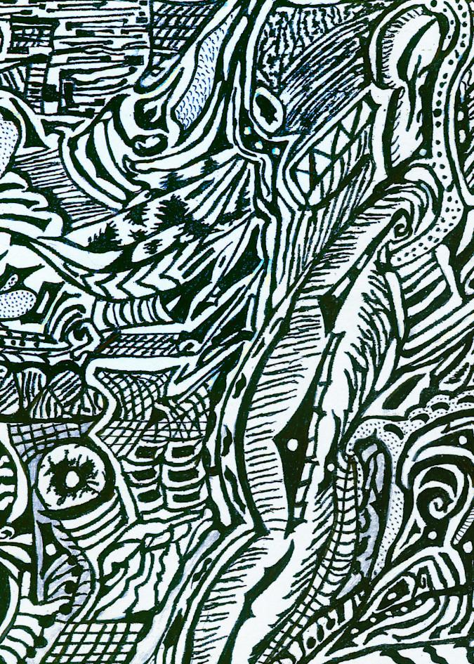 Blues Scale Series  #17 Art | Aldo Borromei
