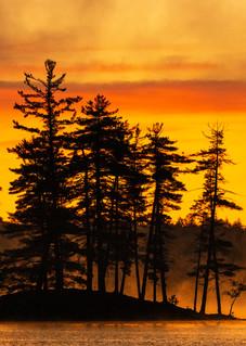 1st Lake Island Sunrise Panoramic Photography Art | Kurt Gardner Photogarphy Gallery