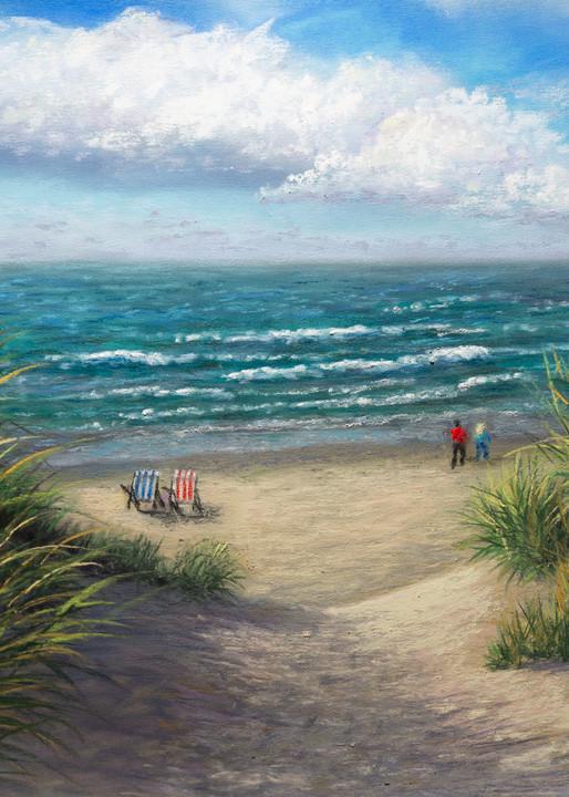 Down To The Beach Art | Mark Grasso Fine Art