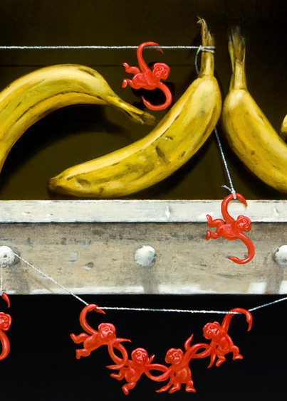 Monkey Business Art | Richard Hall Fine Art
