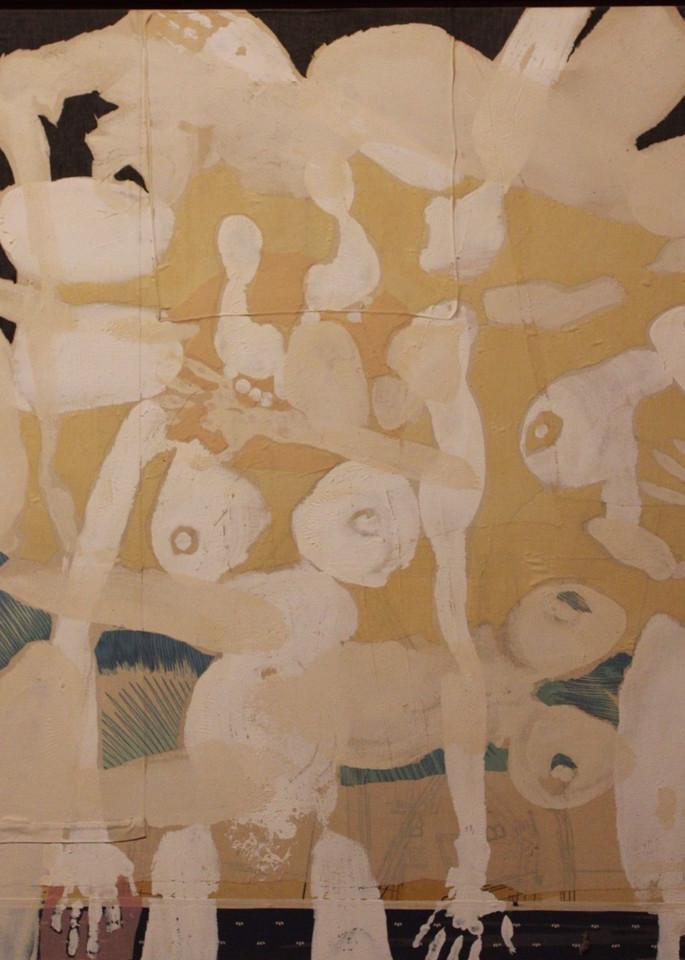 White Body Art   David R. Prentice