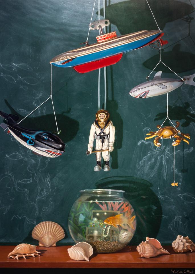 Voyage To The Bottom Of The Sea Art | Richard Hall Fine Art