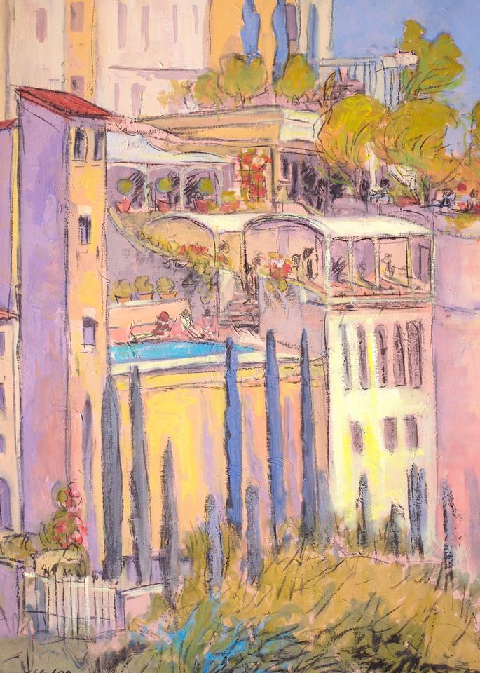 Rooftop Garden Party Art   Dorothy Fagan Joy's Garden