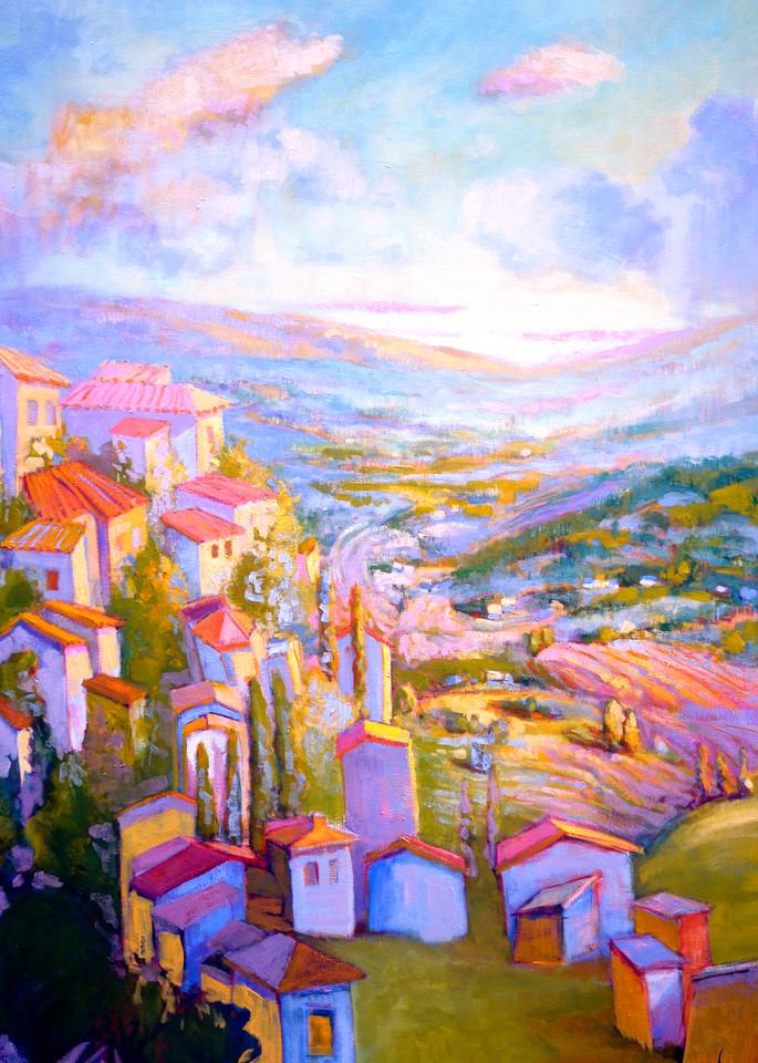 Cascading Dreams Iii Art | Dorothy Fagan Joy's Garden