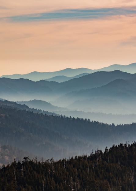 Foggy Mountain Photography Art | Nelson Rudiak Photography