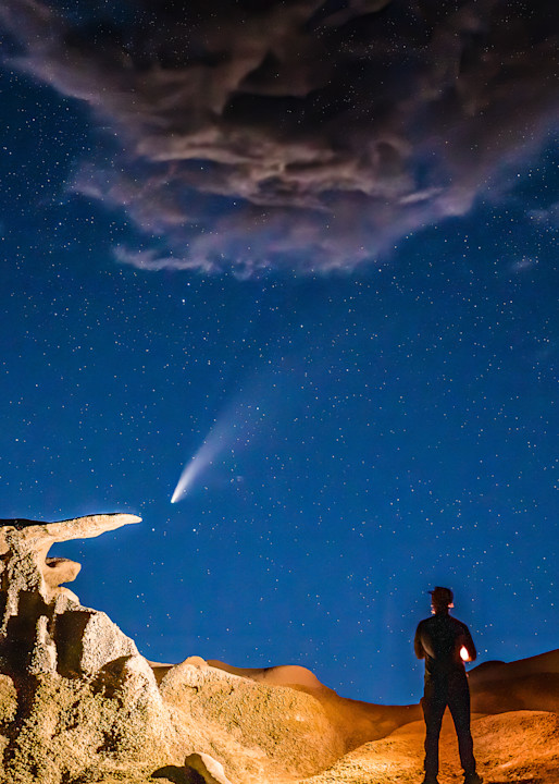 Watching The Comet Photography Art | Peter Batty Photography