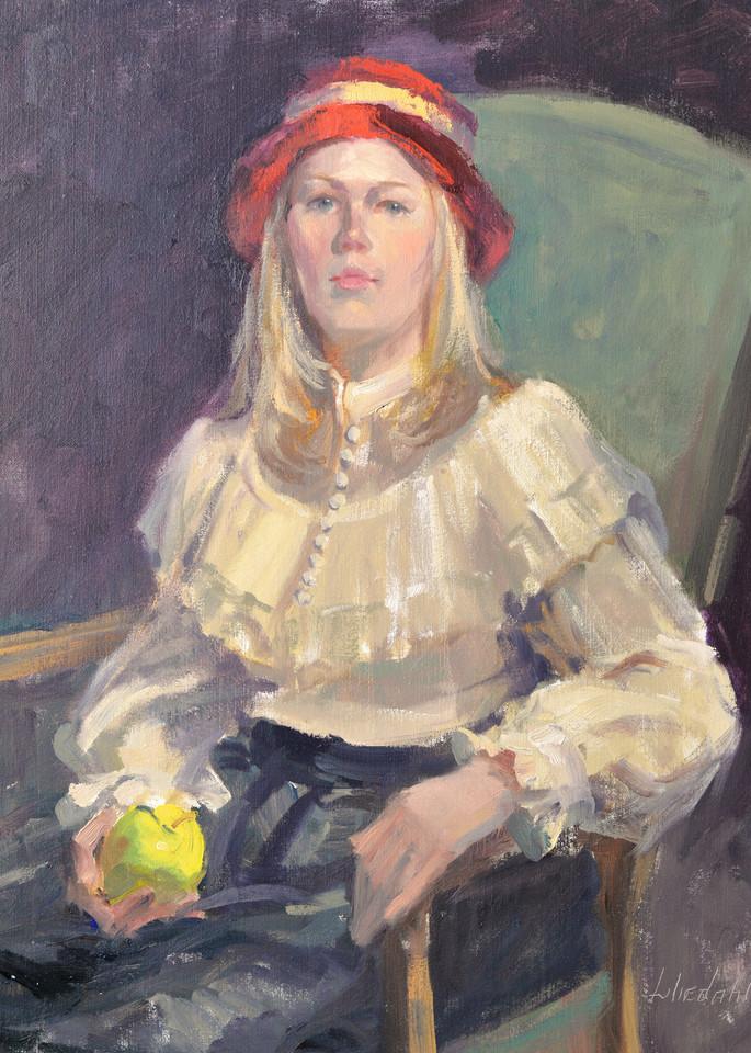 Demo   Female Sitting In Chair Art   Liliedahl Art