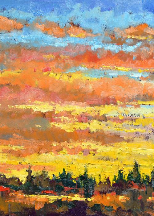 Sundown Art | Liliedahl Art