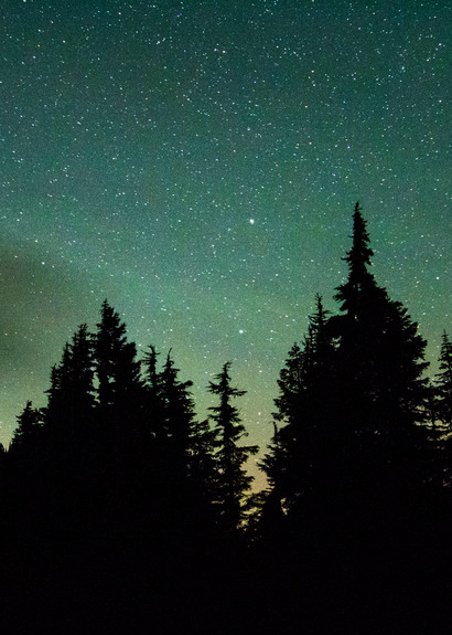 Northern Lights Baker Green Photography Art | Call of the Mountains Photography