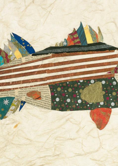 Stripe Bass Art   capeanngiclee