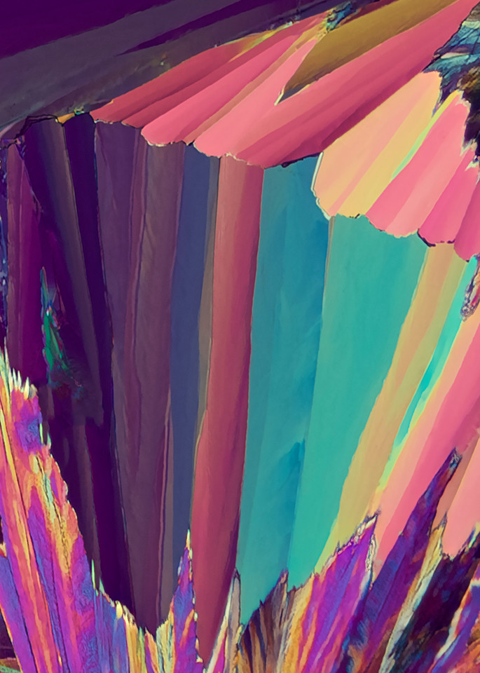 Pastel Book Club (Vanillin Crystals) Art | Carol Roullard Art
