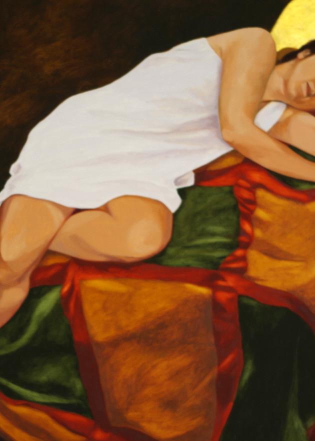 Reclining Woman Art   Helen Vaughn Fine Art