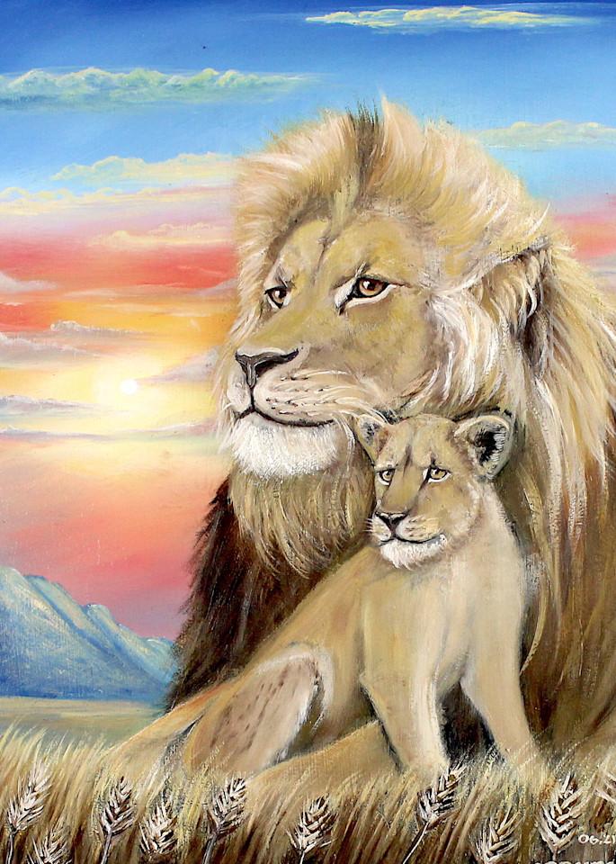 Father's Love Art   errymilart