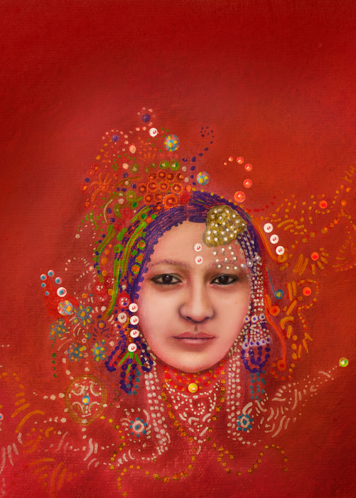 Ladakhi Art   Angelica Hoyos Studio