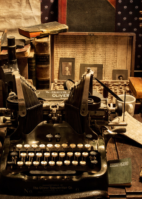 The Doctor S Desk Photography Art | Ken Smith Gallery