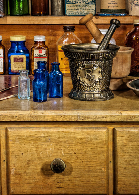 The Pharmacist Workstation Photography Art | Ken Smith Gallery