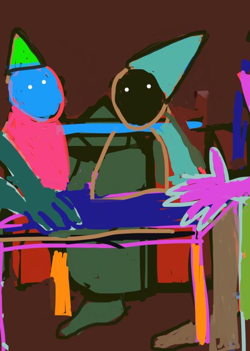 Gathering 1 Art   stephengerstman