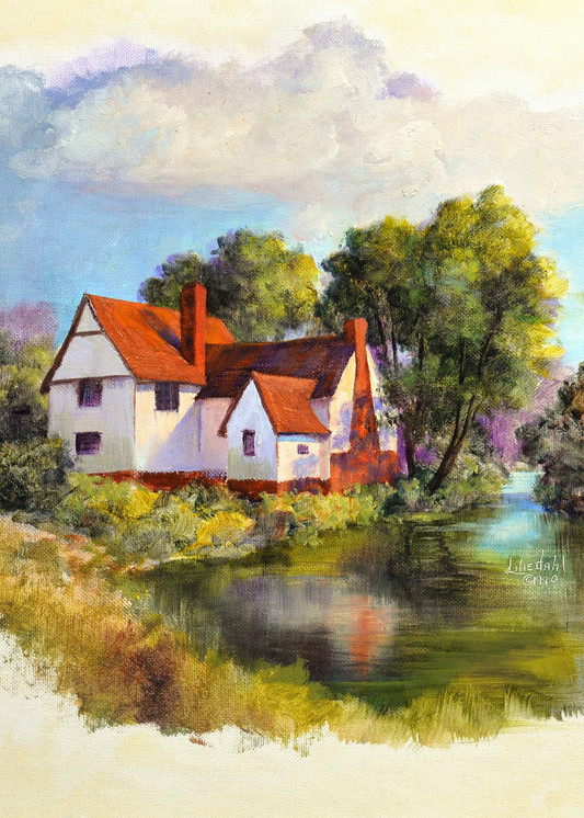 Willie Lott S Cottage, England Art | Liliedahl Art