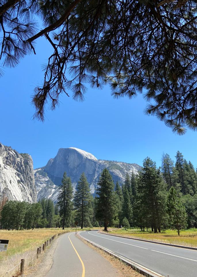 Road Trip Yosemite National Park Art | Coat Of Many Colors