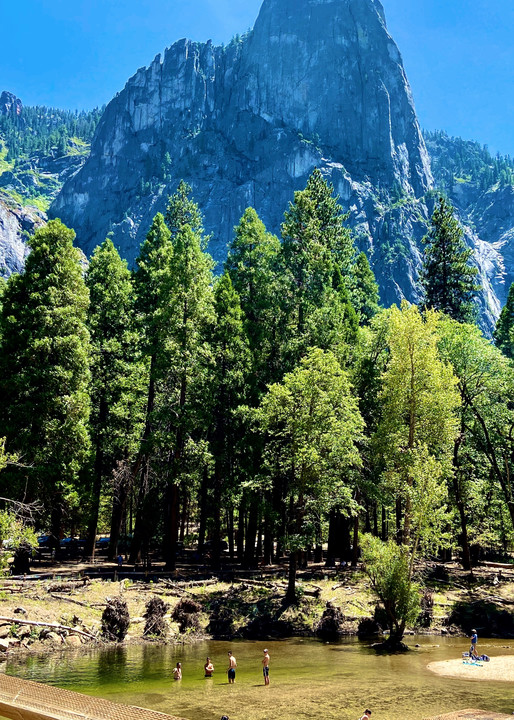 Yosemite Beautiful Rivers Art   Coat Of Many Colors