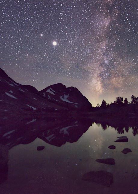Milky Way Mirror Art | Chad Wanstreet Inc