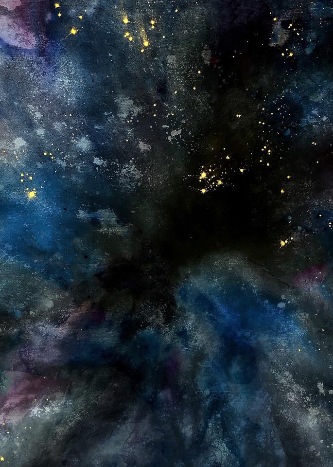 Dyed Cosmoscity Art | Chuck Redick Art