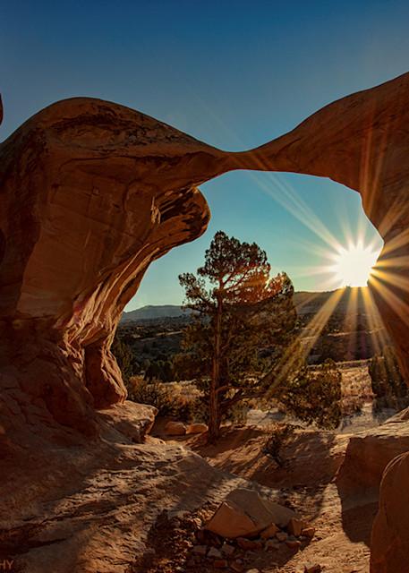 Sunburst Sunset Devils Garden 2482  Photography Art | Koral Martin Healthcare Art