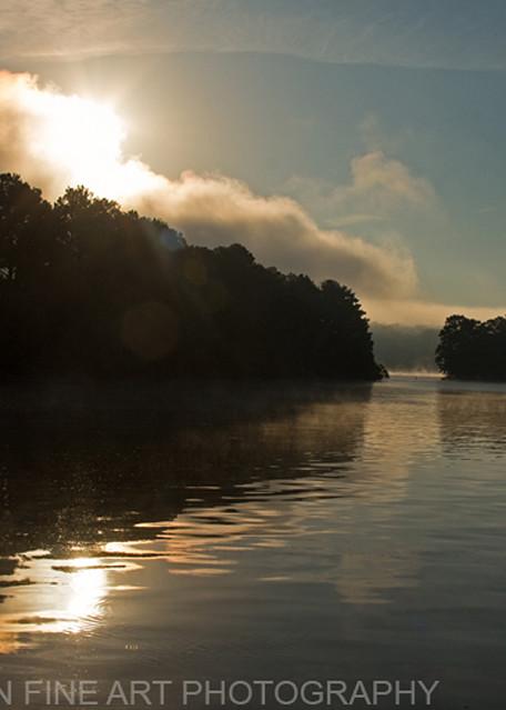 Sunrise Ky Barkley Lake 8508   Photography Art | Koral Martin Healthcare Art