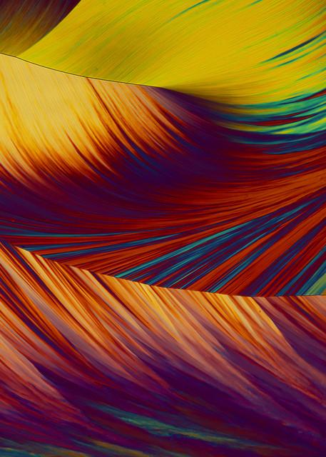 Undulating Swirls (Hydroquinone Crystals) Art | Carol Roullard Art